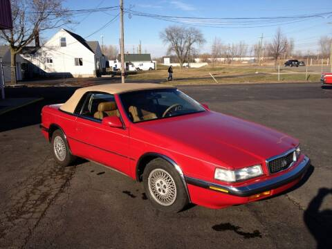1989 Chrysler TC for sale at Modern Classics Car Lot in Westland MI