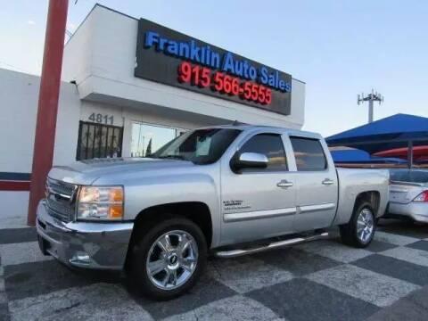 2013 Chevrolet Silverado 1500 for sale at Franklin Auto Sales in El Paso TX