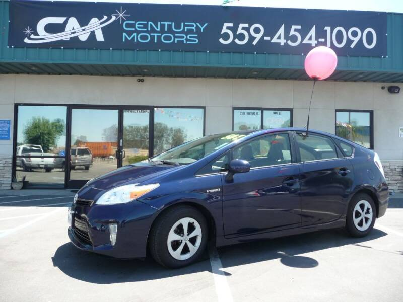 2015 Toyota Prius for sale at CENTURY MOTORS in Fresno CA