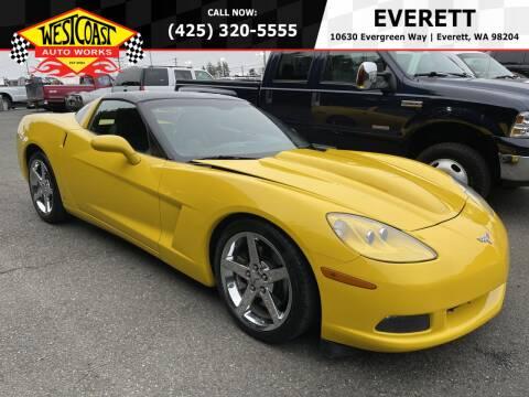 2007 Chevrolet Corvette for sale at West Coast Auto Works in Edmonds WA