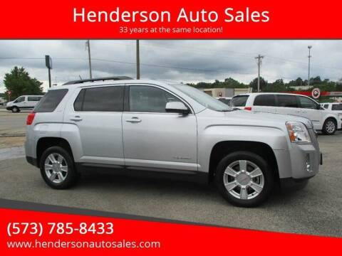 2013 GMC Terrain for sale at Henderson Auto Sales in Poplar Bluff MO
