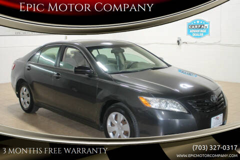 2007 Toyota Camry for sale at Epic Motor Company in Chantilly VA