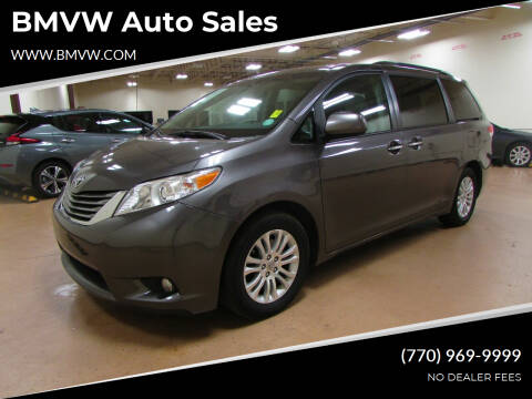 2012 Toyota Sienna for sale at BMVW Auto Sales in Union City GA