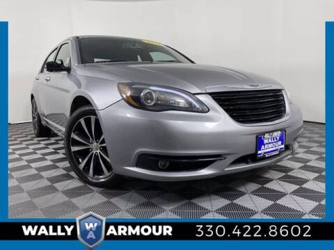 2014 Chrysler 200 for sale at Wally Armour Chrysler Dodge Jeep Ram in Alliance OH
