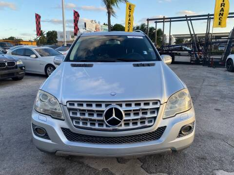 2010 Mercedes-Benz M-Class for sale at America Auto Wholesale Inc in Miami FL