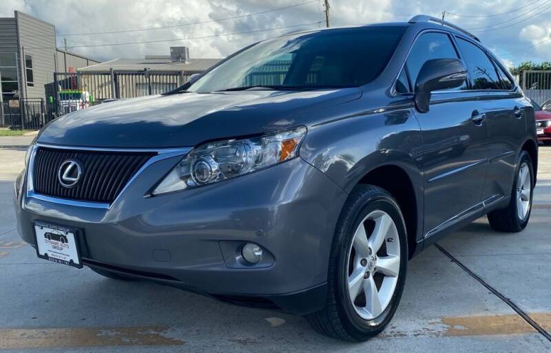 2012 Lexus RX 350 for sale at DYNAMIC AUTO GROUP in Houston TX