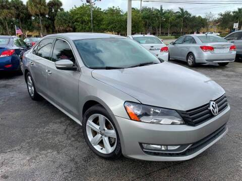 2014 Volkswagen Passat for sale at Roadmaster Auto Sales in Pompano Beach FL