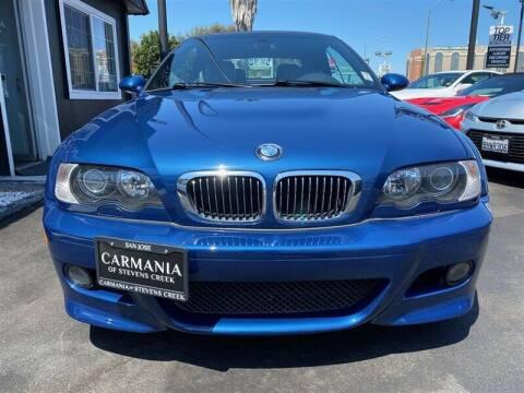 2003 BMW M3 for sale at Carmania of Stevens Creek in San Jose CA