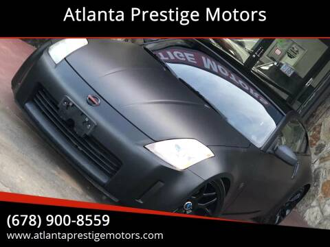 2003 Nissan 350Z for sale at Atlanta Prestige Motors in Decatur GA