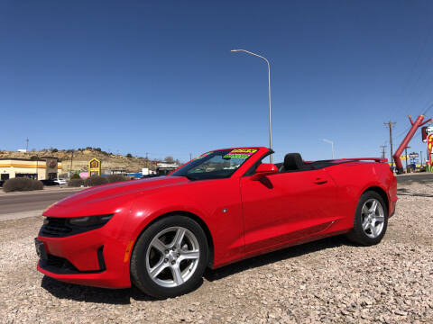 2019 Chevrolet Camaro for sale at 1st Quality Motors LLC in Gallup NM