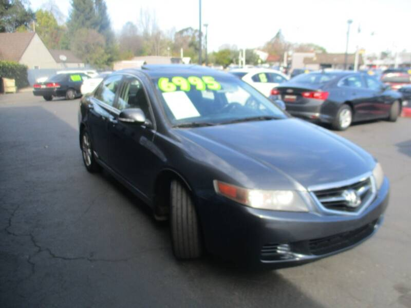 2005 Acura TSX for sale at Quick Auto Sales in Modesto CA