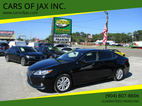 2013 Lexus ES 350 for sale at CARS OF JAX INC. in Jacksonville FL