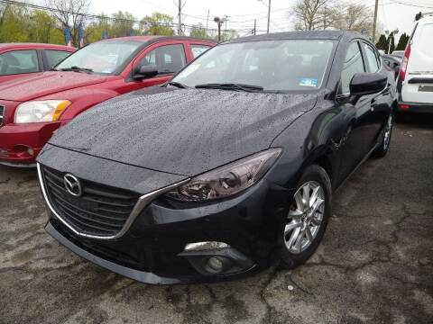 2015 Mazda MAZDA3 for sale at P J McCafferty Inc in Langhorne PA