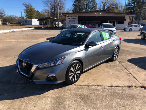 2019 Nissan Altima for sale at BRAMLETT MOTORS in Hope AR