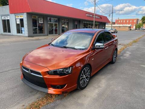 2010 Mitsubishi Lancer for sale at Midtown Autoworld LLC in Herkimer NY