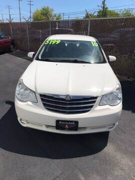 2010 Chrysler Sebring for sale at Square Business Automotive in Milwaukee WI