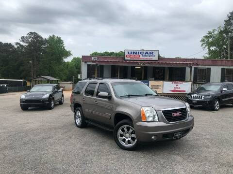 2013 GMC Yukon for sale at Unicar Enterprise in Lexington SC