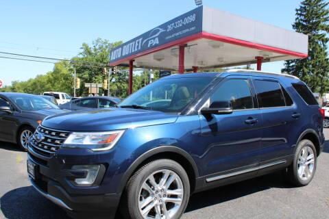 2017 Ford Explorer for sale at Deals N Wheels 306 in Burlington NJ