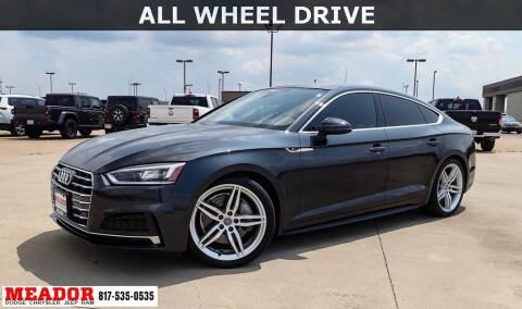 2018 Audi A5 Sportback for sale at Meador Dodge Chrysler Jeep RAM in Fort Worth TX