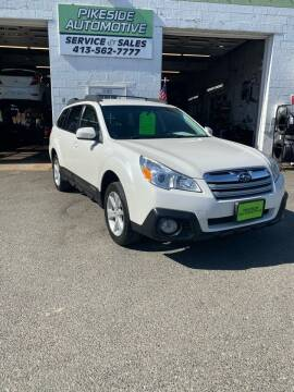 2014 Subaru Outback for sale at Pikeside Automotive in Westfield MA