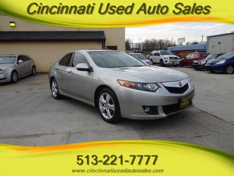 2010 Acura TSX for sale at Cincinnati Used Auto Sales in Cincinnati OH