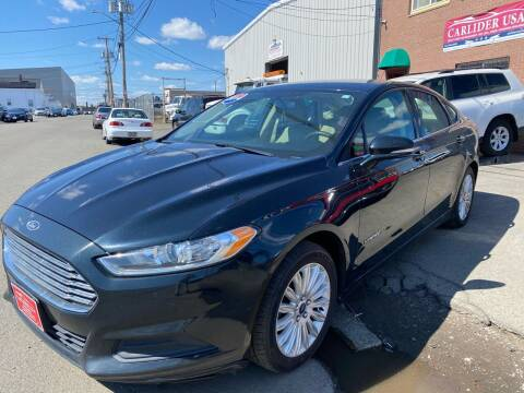 2014 Ford Fusion Hybrid for sale at Carlider USA in Everett MA