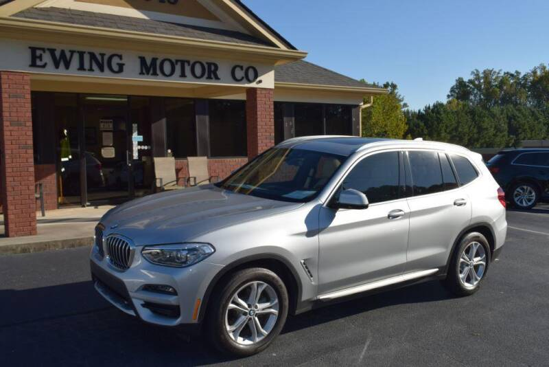 2020 BMW X3 for sale at Ewing Motor Company in Buford GA