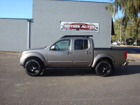 2005 Nissan Frontier for sale at Motion Autos in Longview WA