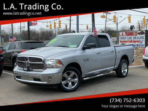 2017 RAM Ram Pickup 1500 for sale at L.A. Trading Co. in Woodhaven MI