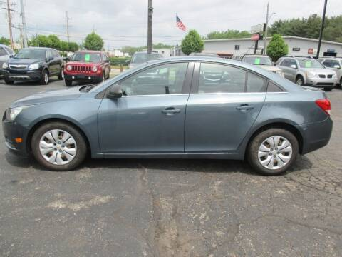 2012 Chevrolet Cruze for sale at Home Street Auto Sales in Mishawaka IN