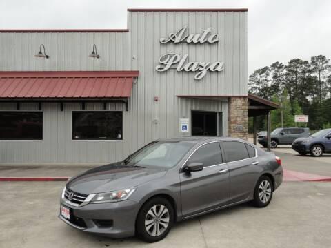 2015 Honda Accord for sale at Grantz Auto Plaza LLC in Lumberton TX