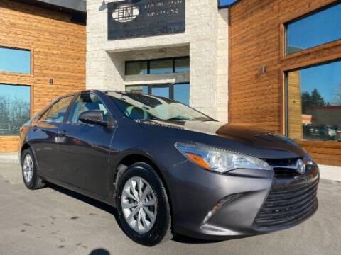 2017 Toyota Camry for sale at Hamilton Motors in Lehi UT