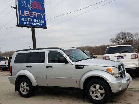 2008 Dodge Nitro for sale at Liberty Auto Sales in Merrill IA