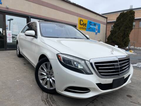2014 Mercedes-Benz S-Class for sale at Car Mart Auto Center II, LLC in Allentown PA