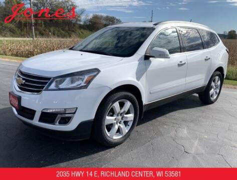 2016 Chevrolet Traverse for sale at Jones Chevrolet Buick Cadillac in Richland Center WI