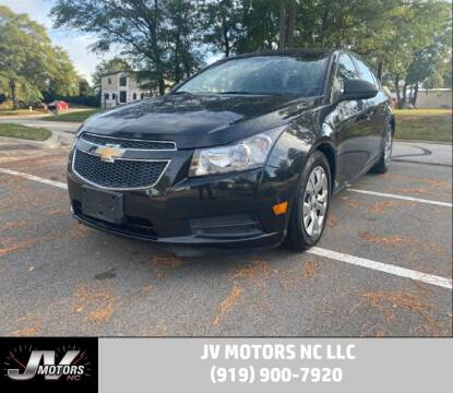 2013 Chevrolet Cruze for sale at JV Motors NC LLC in Raleigh NC