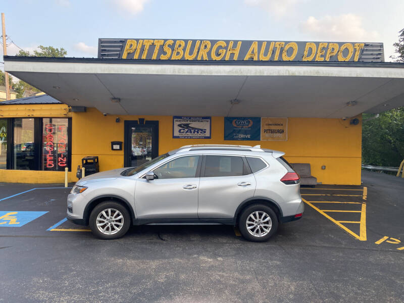 2018 Nissan Rogue for sale at Pittsburgh Auto Depot in Pittsburgh PA