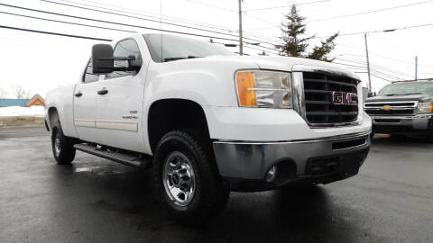 2010 GMC Sierra 2500HD for sale at Action Automotive Service LLC in Hudson NY