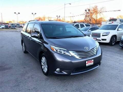2017 Toyota Sienna for sale at Bryans Car Corner in Chickasha OK