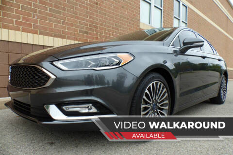 2018 Ford Fusion for sale at Macomb Automotive Group in New Haven MI