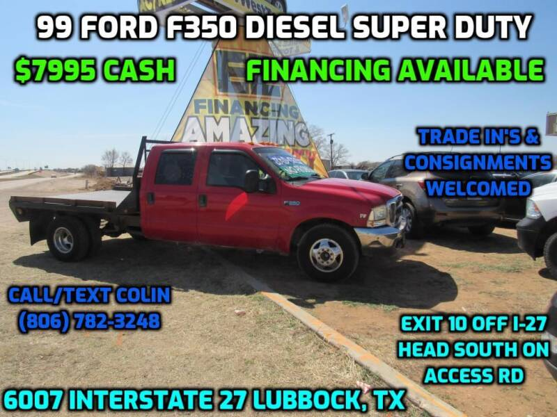 1999 Ford F-350 Super Duty for sale at West Texas Consignment in Lubbock TX