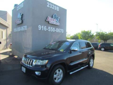 2011 Jeep Grand Cherokee for sale at LIONS AUTO SALES in Sacramento CA