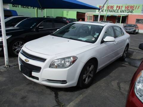 2011 Chevrolet Malibu for sale at ALOHA USED CARS in Las Vegas NV