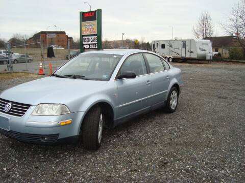 2002 Volkswagen Passat for sale at Branch Avenue Auto Auction in Clinton MD