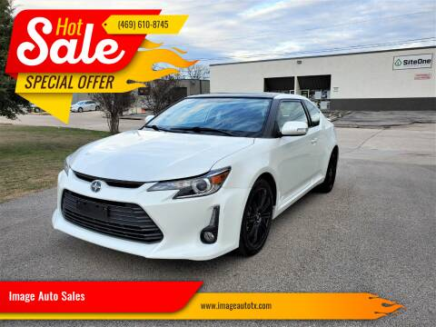 2016 Scion tC for sale at Image Auto Sales in Dallas TX