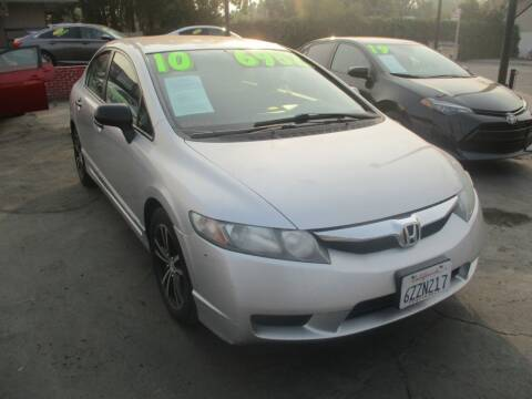 2010 Honda Civic for sale at Quick Auto Sales in Modesto CA