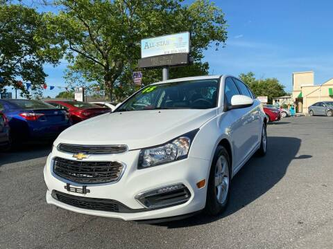 2015 Chevrolet Cruze for sale at All Star Auto Sales and Service LLC in Allentown PA