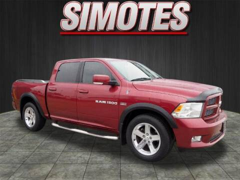 2012 RAM Ram Pickup 1500 for sale at SIMOTES MOTORS in Minooka IL