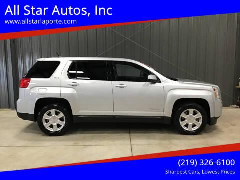 2012 GMC Terrain for sale at All Star Autos, Inc in La Porte IN