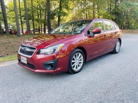 2013 Subaru Impreza for sale at H&C Auto in Oilville VA